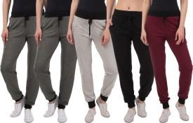 Kinma Self Design Women's Multicolor Track Pants - TKPEG58Z4BADVAUB