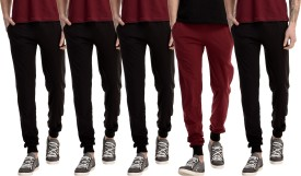 Kinma Self Design Men's Multicolor Track Pants - TKPEG58TN4GZUWSD