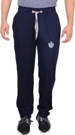 GDS Solid Men's Dark Blue Track Pants