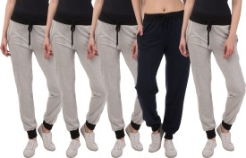 Kinma Self Design Women's Multicolor Track Pants - TKPEG58PGYGPRG4H