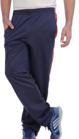 American Crew Solid Men's Dark Blue Track Pants