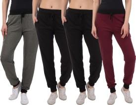 Kinma Self Design Women's Multicolor Track Pants - TKPEG58SKHTYUZF4
