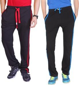 LUCfashion Self Design Men's Multicolor Track Pants