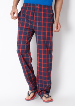 Chromozome Chromozome Checkered Men Track Pants