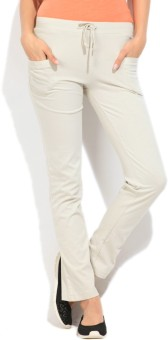 STYLE QUOTIENT BY NOI Women's Track Pants - TKPEGS6FPKEYPWWS