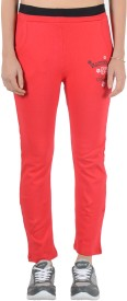 2 Day Solid, Printed Women's Track Pants