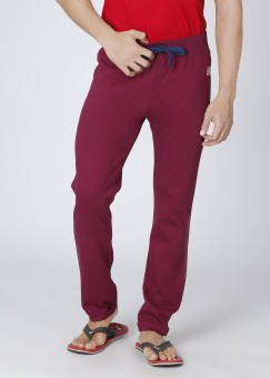 American Swan Solid Men Track Pants