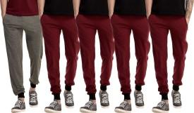 Kinma Self Design Men's Multicolor Track Pants - TKPEG58S3EAMRXM4