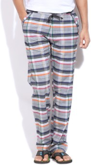 Monte Carlo Checkered Men Track Pants