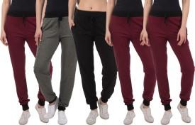 Kinma Self Design Women's Multicolor Track Pants - TKPEG58RHZEANCRR