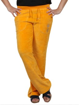 Pinellii Pamper Pant Marigold Solid Women's Track Pants