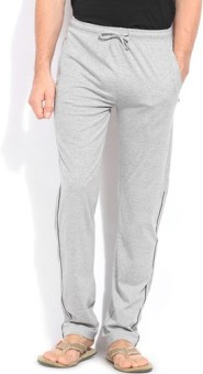 Happy Hours Super Solid Men's Grey Track Pants