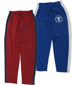 JusCubs Embroidered Boy's Multicolor Track Pants