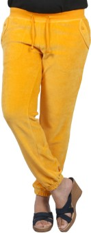 Pinellii Breeze Pant Marigold Solid Women's Track Pants