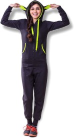 Coucou by zivame Solid Women's Track Suit