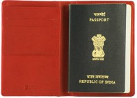 GoGappa Wanderlust Leather Passport Holder Cover