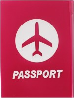 Tootpado Airplane Maroon - Portable Folding Silicone Passport Cover Card Holder