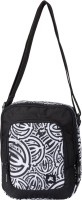PinStar Black And White Zebra Print Gadget Travel Pouch (Black - 02)