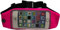Speed Waist Belts With Mobile Insertion Water Proof Travel Pouch Pink