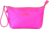 Uberlyfe Hot Pink Rectangular Multipurpose Pouch Or Purse For Women Pink