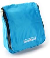 Pack N Buy Travel Cosmetic Hanging Bag Travel Toiletry Kit Blue