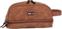 BagsRus Muliti Purpose Travel Toiletry Kit - Brown