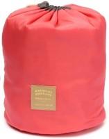 Taino 3pc Barrel Shaped Cosmetic Travel Toiletry Kit Peach