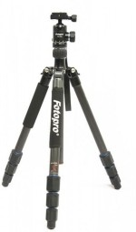 Fotopro MGC 584 Carbon Fiber Tripod with FPH 52Q Ball Head for DSLR Camera