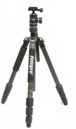 Fotopro MGC 584 Carbon Fiber Tripod with FPH 52Q Ball Head for DSLR Camera