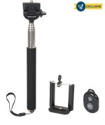 Photron Selfie Stick with Bluetooth Remote SLF200 + BTR100