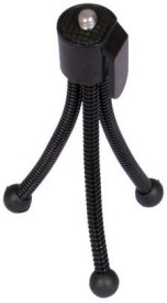 De TechInn Universal Flexible Mini Pocket Metal Tripod Stand for Digital Camera Webcam mobile phones