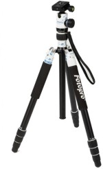 Fotopro X5iW Aluminium Compact Professional Tripod with Porcelain Head FPH 53P