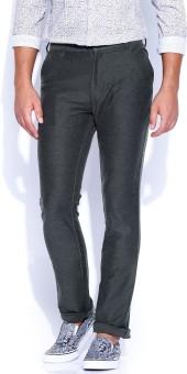 Proline Active Regular Fit Men's Grey Trousers
