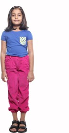 Karrot by Shoppers Stop Regular Fit Girl's Trousers