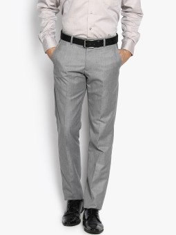 Black Coffee Regular Fit Men's Trousers