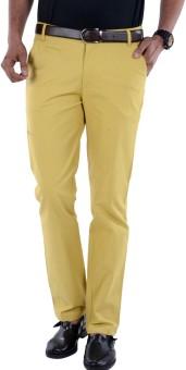 S9 MEN Slim Fit Men's Multicolor Trousers