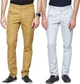Haute Couture Slim Fit Men's Trousers - TROE5XHMZGHUPGFG