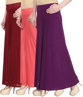 Skyline Trading Regular Fit Women's Maroon, Pink, Purple Trousers