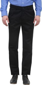 Kingswood Slim Fit Men's Black Trousers