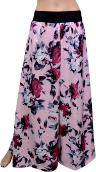 GraceDiva Digital Print Regular Fit Women's Trousers