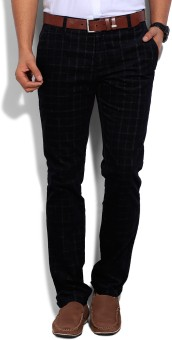 Wills Lifestyle Skinny Fit Men's Trousers
