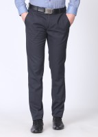 Black Coffee Slim Fit Men's Trousers