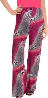 Fizzaro Super Pink Regular Fit Women's Trousers