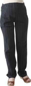 Morph Maternity Pencil Striped Pant Regular Fit Women's Trousers - TROE74DCXWP7ZQMU