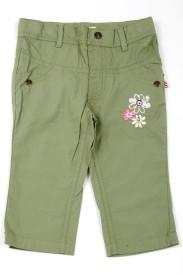 Milou Regular Fit Girl's Green Trousers