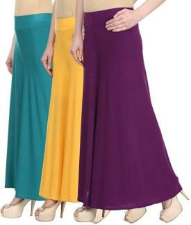 Skyline Trading Regular Fit Women's Blue, Yellow, Purple Trousers
