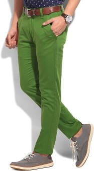 Flippd Slim Fit Men's Trousers: Trouser
