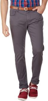 American Swan Slim Fit Men's Grey Trousers