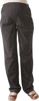 Morph Maternity Pencil Striped Pant Regular Fit Women's Trousers
