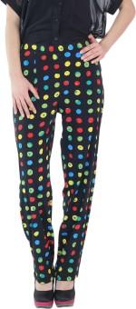 Fashion205 Printed Crepe Regular Fit Women's Trousers - TROE3UVGBSM46JYR